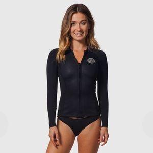 RIP CURL 1.5mm Neoprene Wetsuit Jacket Size 4